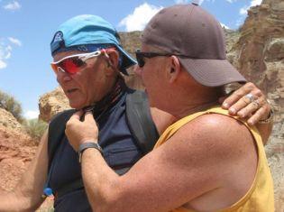 Bill Furey and Hawk-from Irene Samarin